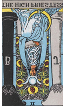High Priestess Reversed