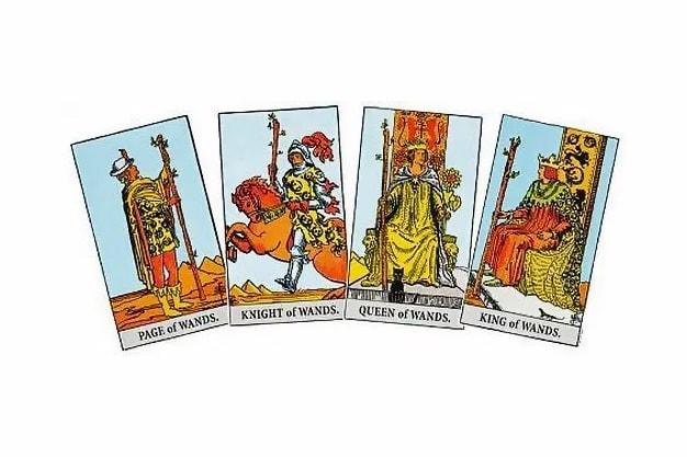 Tarot Card Suit of Wands