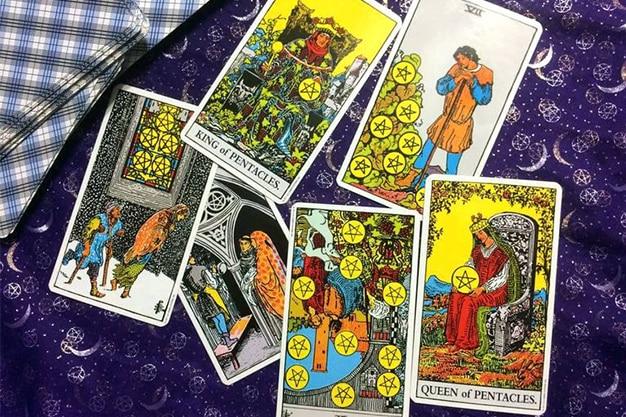 Tarot Suit of Pentacles