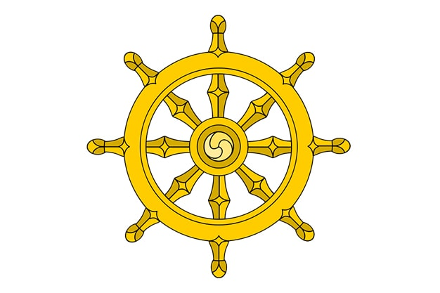 The Dharma Wheel